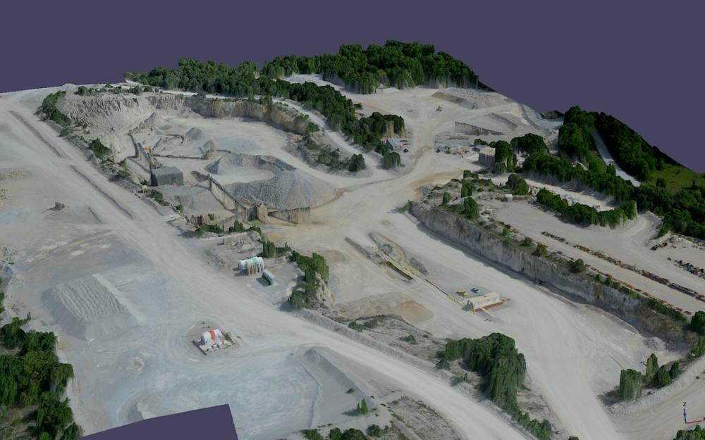 Rock Quarry 3D Modle