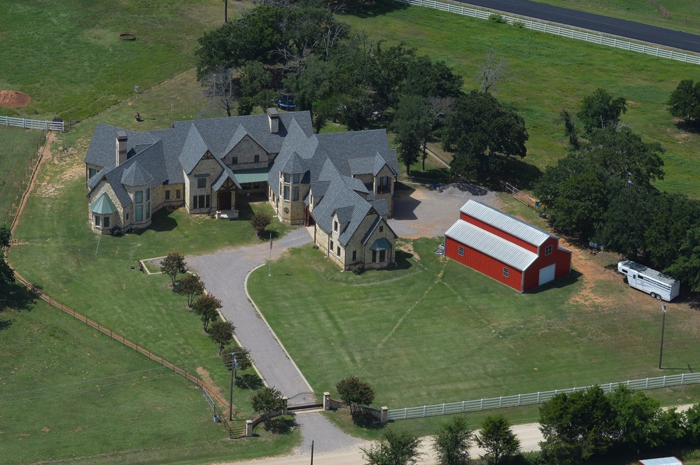 Ranch Home Sales Aerial Photography