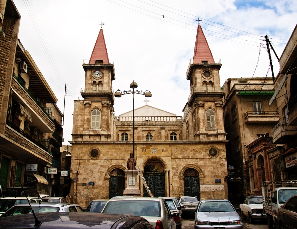 St. Elias Maronite Cathedral, Aleppo - Farhat Square