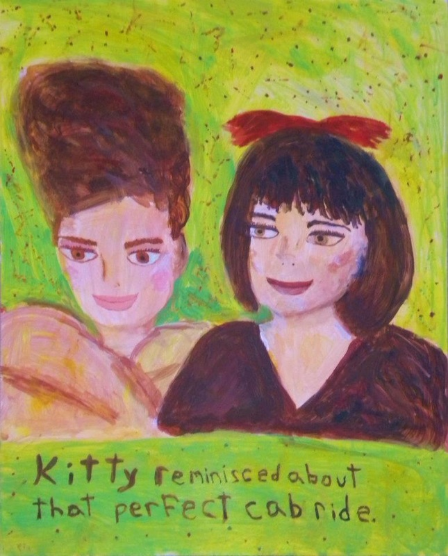 Kitty Reminisced About That Perfect Cab Ride Lisa Ferber