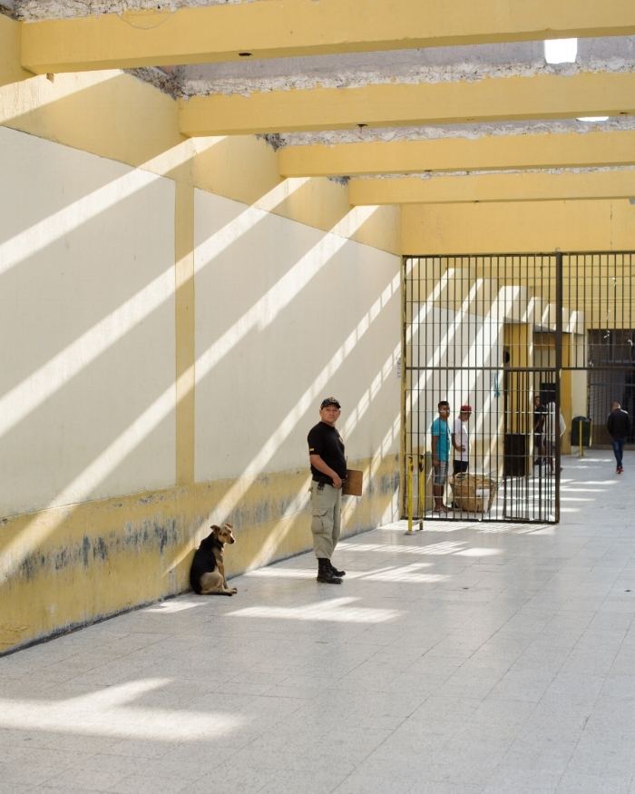 """Hallway of Lurigancho Prison""by Carlos Jaramillo, 2018"