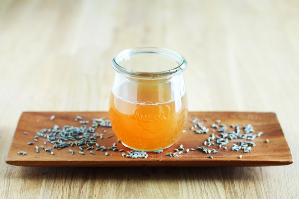 Lavender-Honey Simple Syrup