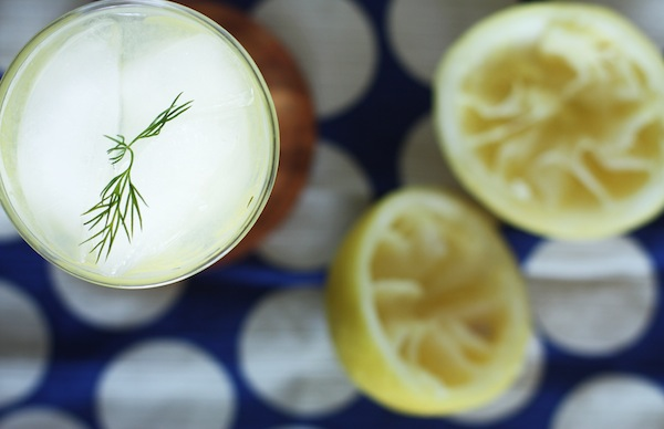 Cucumber Dill Lemonade