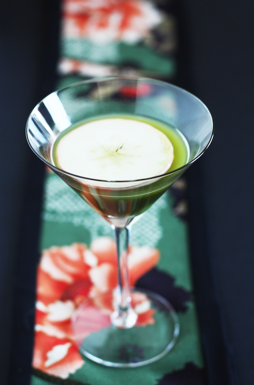 Green Tea Apple Martini