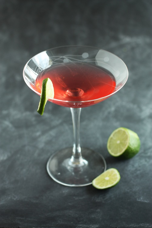 The Ruby Rush cocktail
