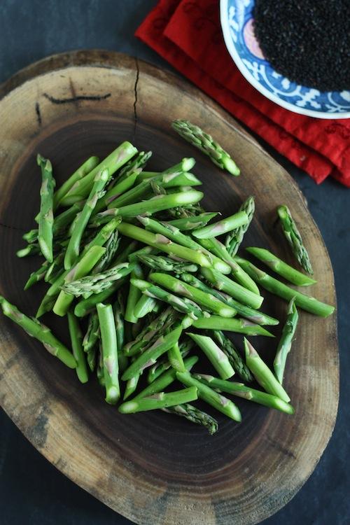 Asparagus & Black Sesame