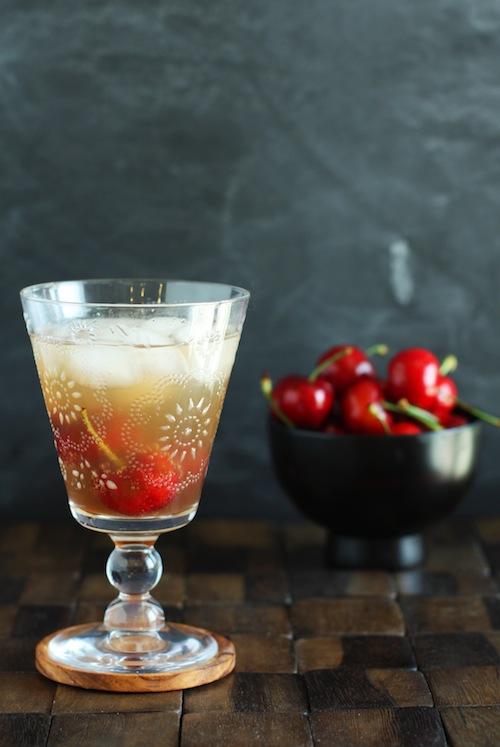 Cherry Vanilla Sparkler