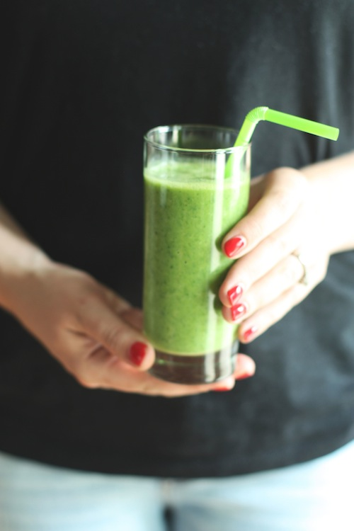 Enjoy a Green Smoothie