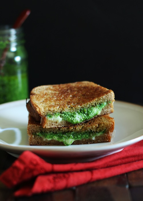 Grilled Cheese & Arugula Pesto