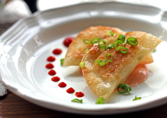 Scallop-Corn-Gyoza