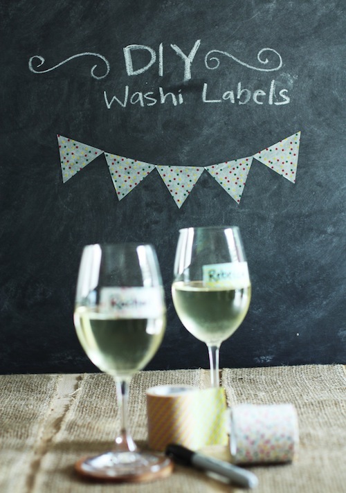 DIY Washi Labels