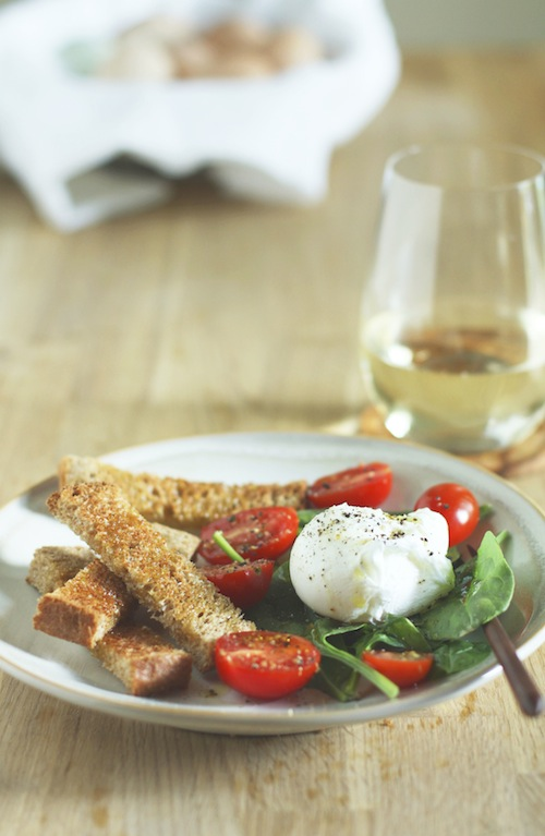 Poached Egg & Salad