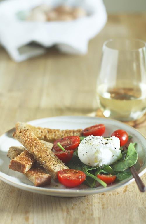 Poached Egg & Salad