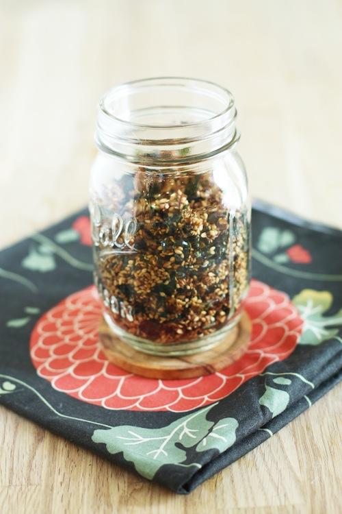 Recipe for Homemade Furikake