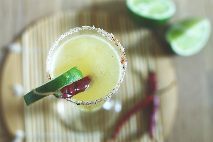 Spicy Thai Pineapple Cocktail