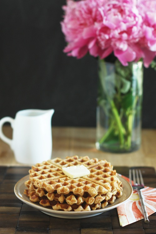 Sweet Potato Cinnamon Waffles