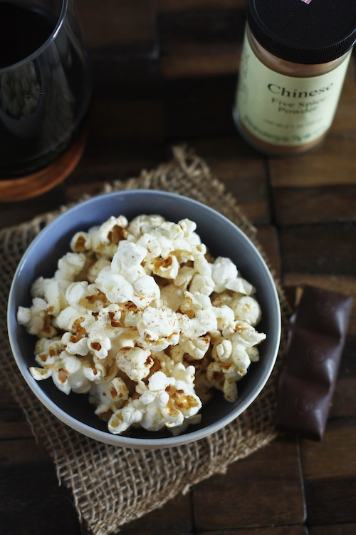 Chinese 5 Spice Popcorn Recipe