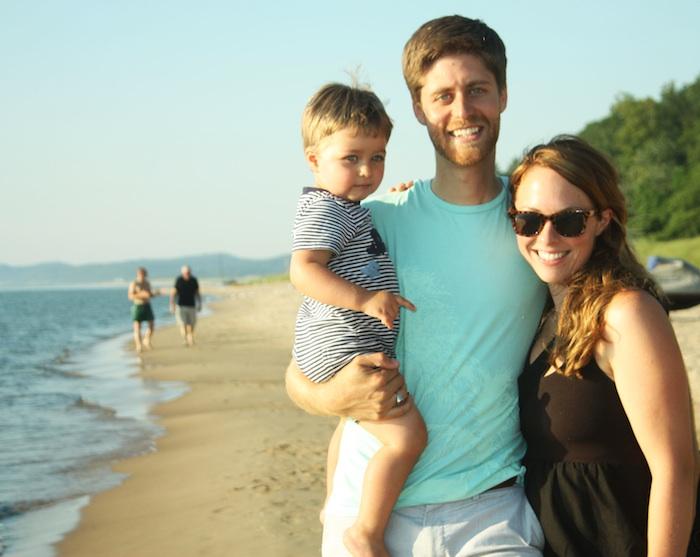 Family Portrait @ Lake Michigan