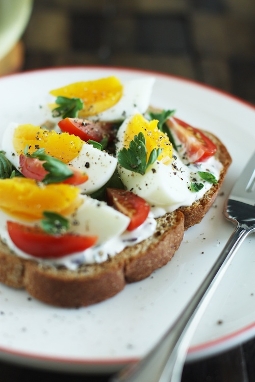 French Tartine for Bastille Day :: Set the Table