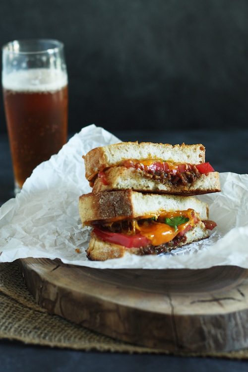 Grilled Cheese with Bacon Jam