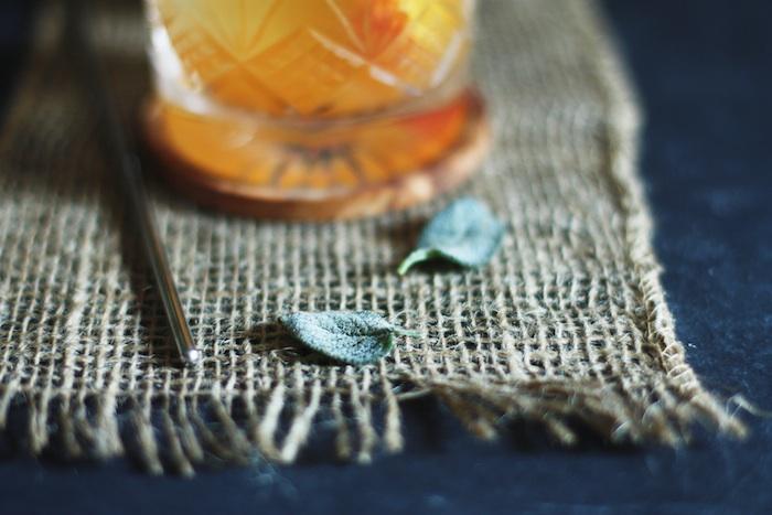 Crispy Sage Leaves :: Set the Table