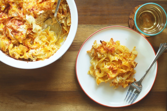 Creamy Baked Macaroni & Cheese :: Whole Home News