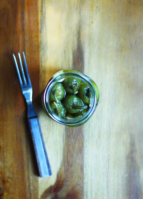 Honey & Allspice Pickled Jalapenos :: Set the Table