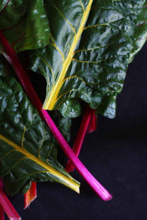 Rainbow Chard :: Set the Table