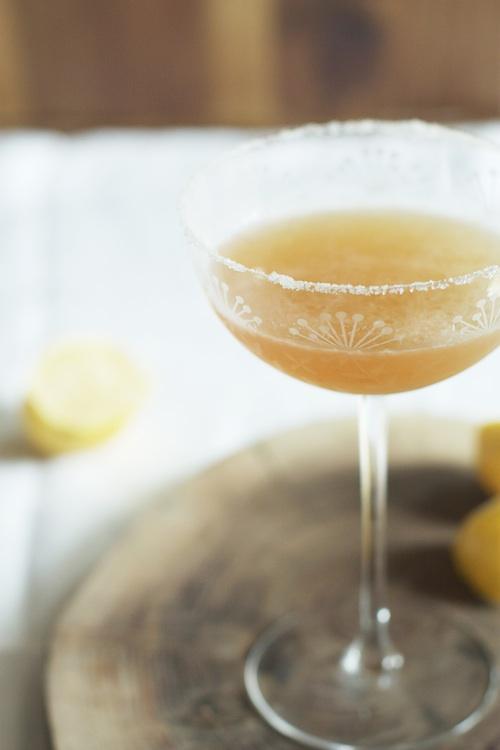 Bourbon & Lemon Cocktail | Set the Table
