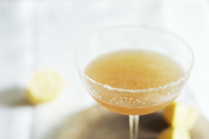 Bourbon Sour Cocktail | Set the Table