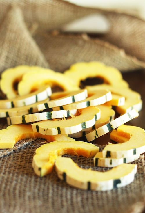 Delicata Squash Slices :: Set the Table