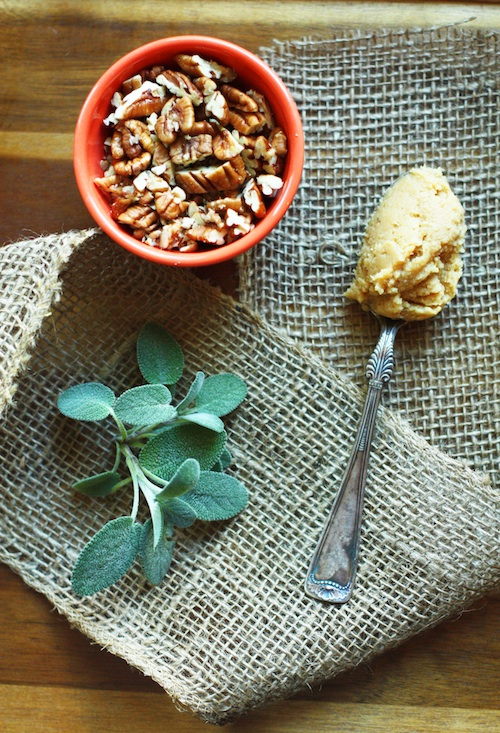 Pecans, Sage & White Miso :: Set the Table