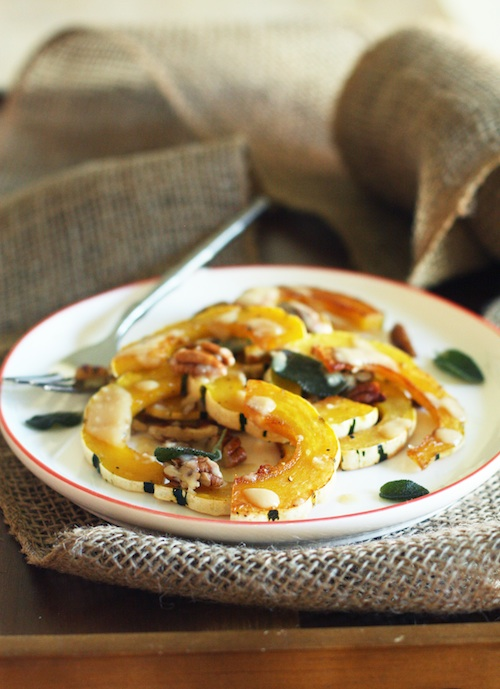 Roasted Delicata Squash :: Set the Table