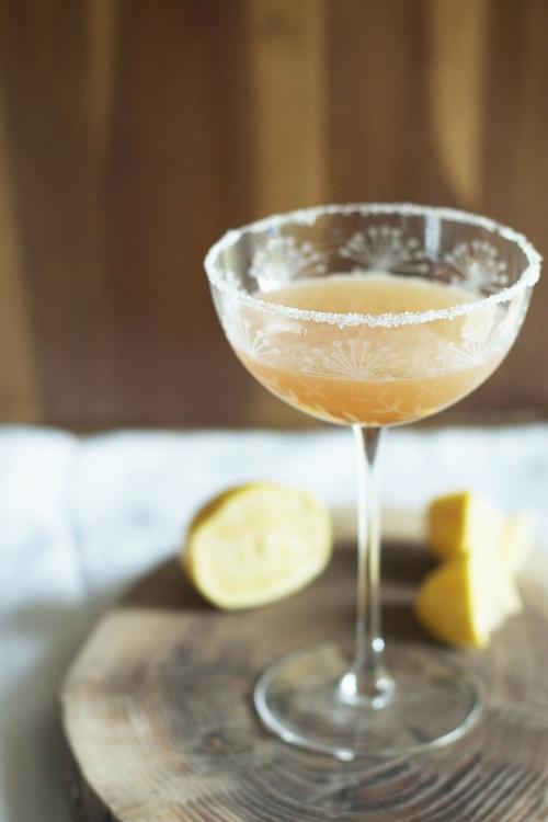 White on Rice Couple's Bourbon Sour | Set the Table