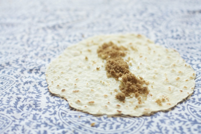 lefse with brown sugar & butter :: Set the Table