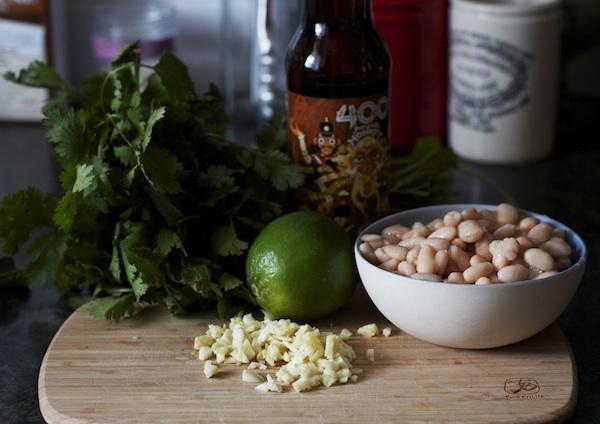 White Chili Skillet Dip | Set the Table