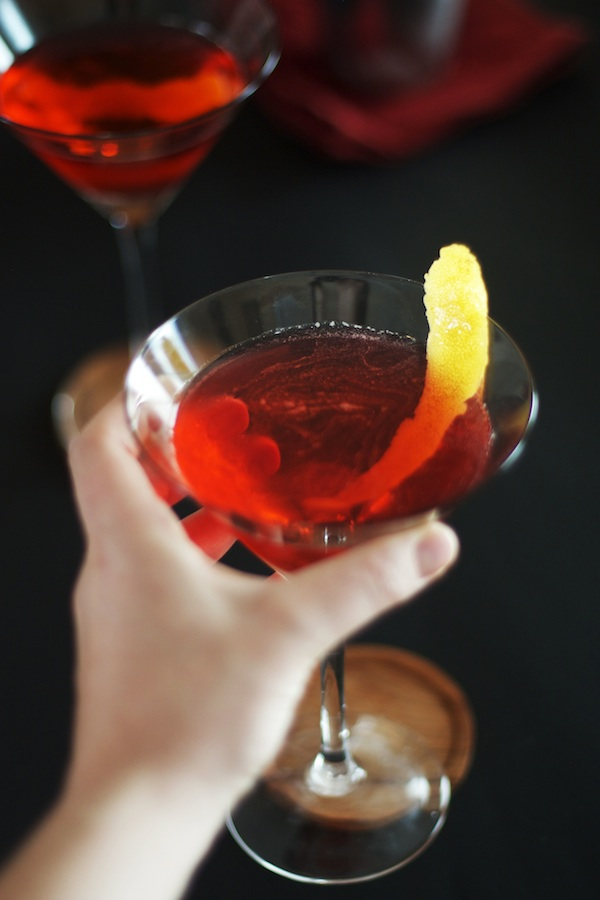 Classic Negroni with Meyer Lemon Twist | Set the Table