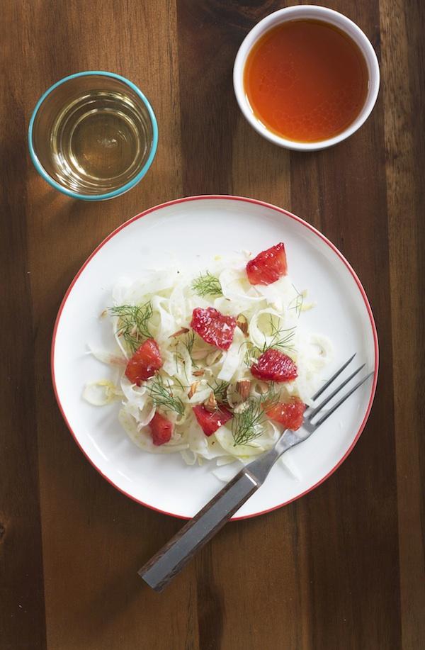 Fennel and Blood Orange Salad | Set the Table