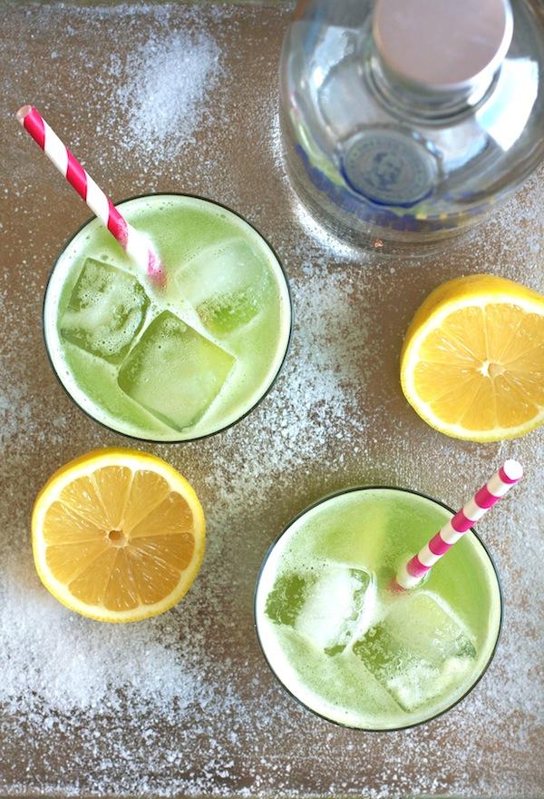 Zucchini & Sea Salt Vodka Soda | Set the Table