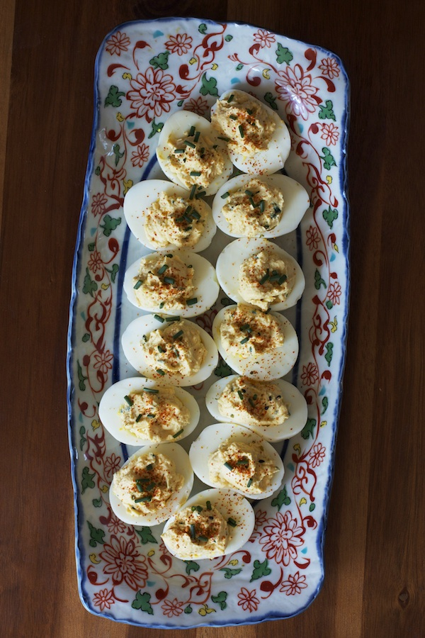 Miso Deviled Eggs | Set the Table