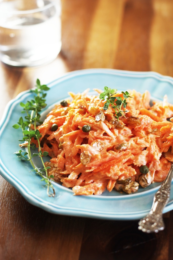Healthy Carrot Salad Recipe | Set the Table