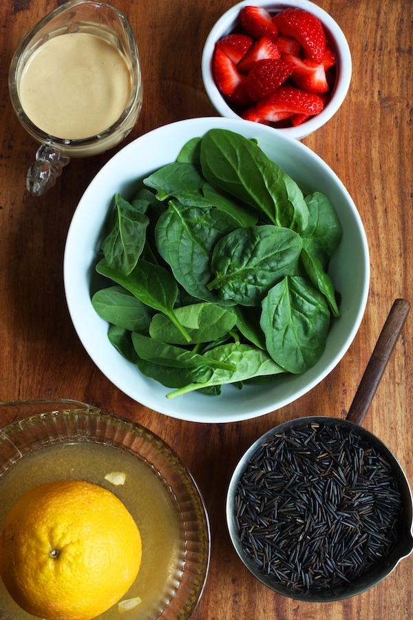 Wild Rice Salad Ingredients | Set the Table