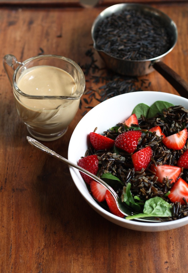 Wild Rice & Spinach Salad | Set the Table