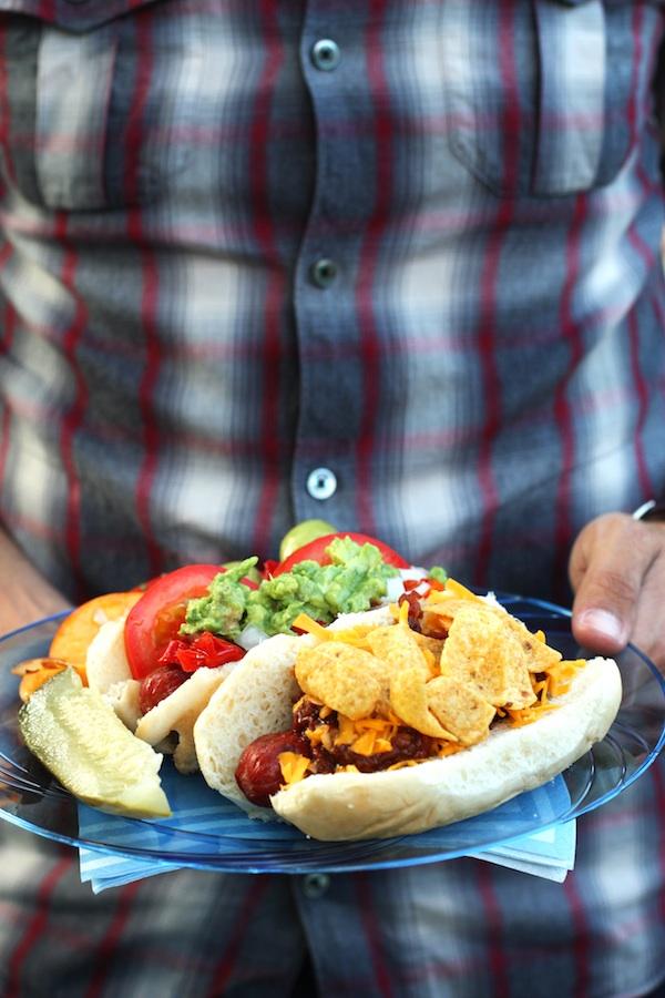 DIY Hot Dog Bar | Set the Table