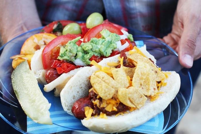Host a DIY Hot Dog Bar | Set the Table