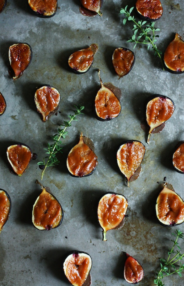 Miso Glazed Broiled Figs | Set the Table