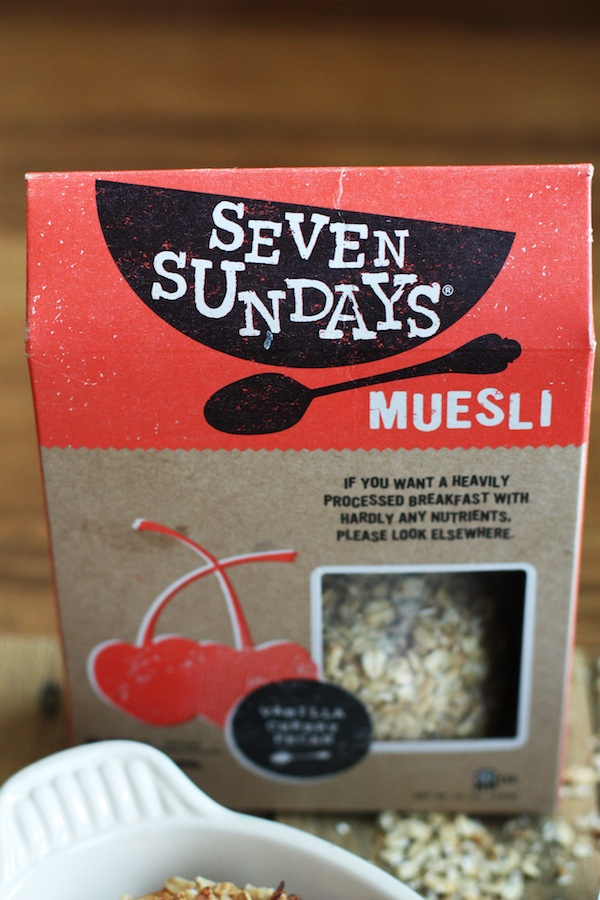 Seven Sundays Muesli | Set the Table