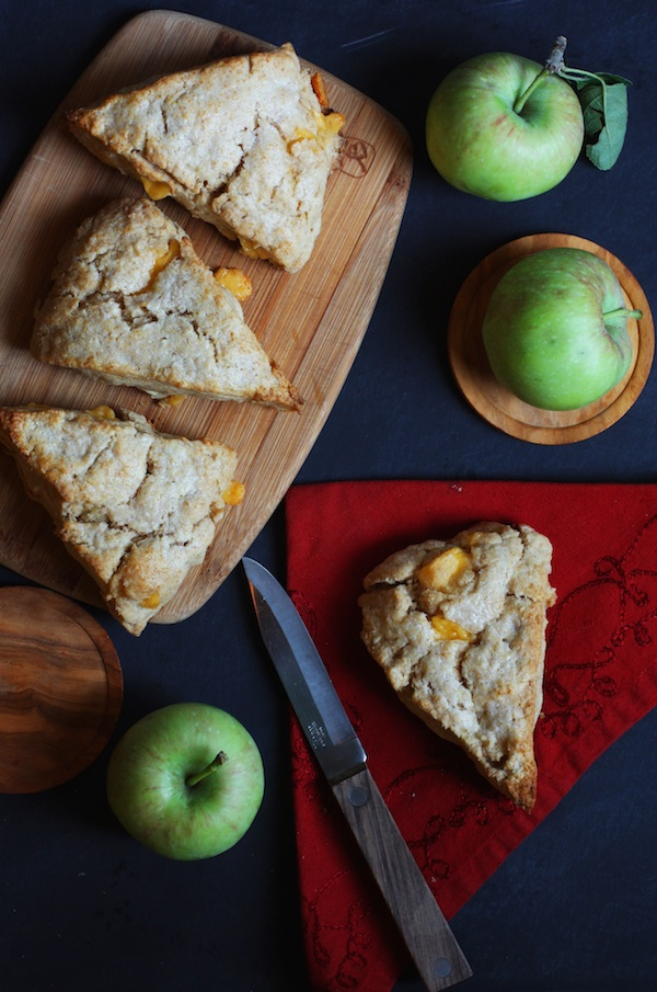 Apple Cheddar Scones | Set the Table