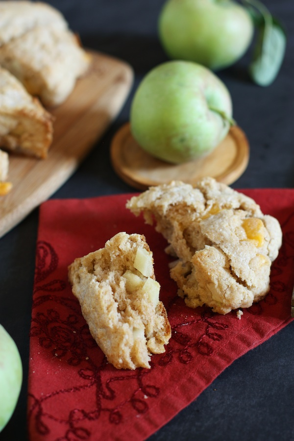 Apple & Sharp Cheddar Scones | Set the Table