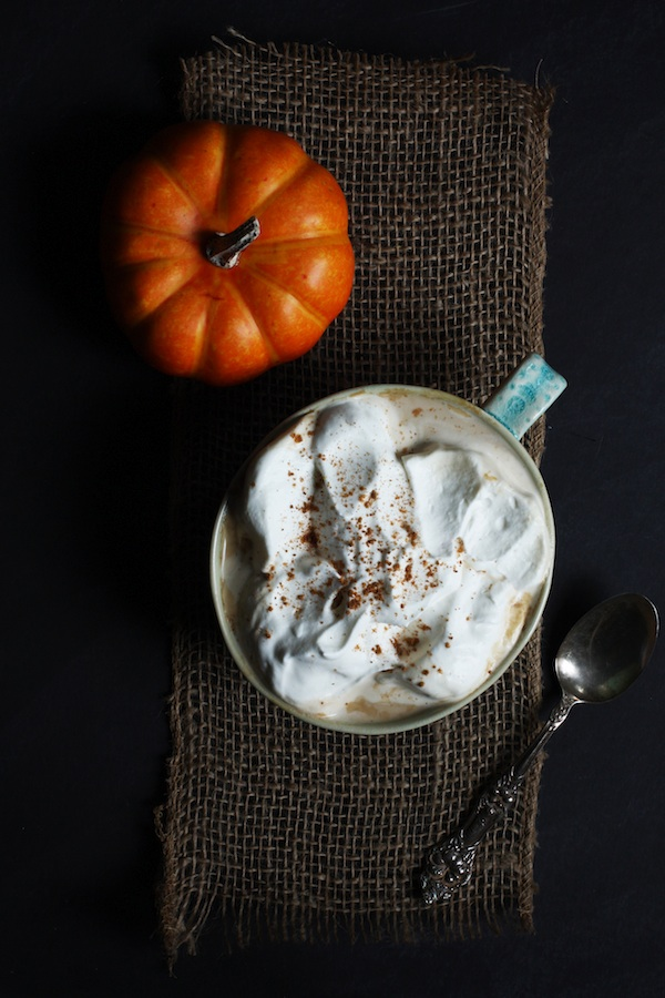 Homemade Pumpkin Pie Latte | Set the Table